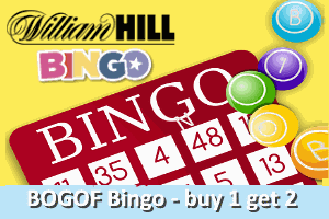 William Hill half-price-Bingo