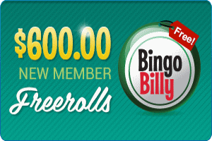 BingoBilly Freerolls