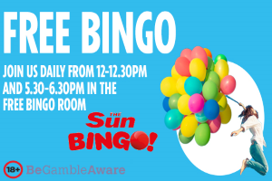 Sun's Free Bingo