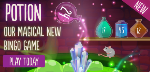 Potion, the New Game at Tombola