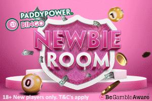 Newbie Room at PaddyPower Bingo