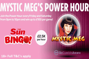 Mystic Meg's Power Hour