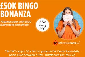 £50k Bingo Bonanza